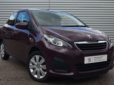 used Peugeot 108 1.0 72 Active 5dr