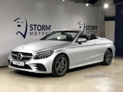 used Mercedes 220 C ClassAMG Line Convertible