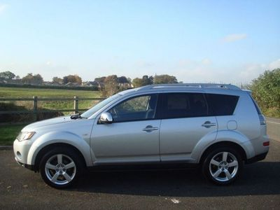 used Mitsubishi Outlander Outlander 20072.0 INTENSE WARRIOR H-LINE DI-D 5d 139 BHP Estate 2007