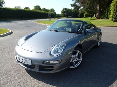 used Porsche 911 Carrera Cabriolet 997 3.6 MANUAL – LOW MILEAGE