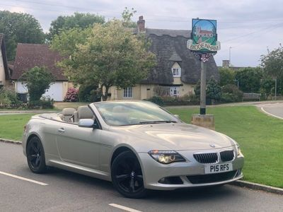used BMW 650 Cabriolet