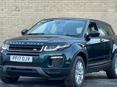 used Land Rover Range Rover evoque Estate 2.0 TD4 SE Tech Hatchback 5d Auto
