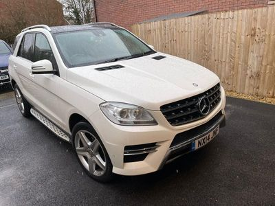 used Mercedes ML350 M Class 3.0CDI BlueTEC AMG Sport 7G-Tronic Plus 5dr