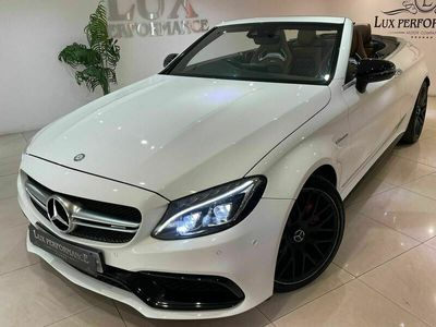 used Mercedes C63 AMG C Class 4.0V8 BiTurbo AMG S Edition 1 Cabriolet SpdS MCT (s/s) 2dr