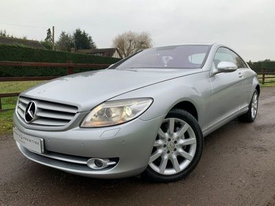 used Mercedes CL500 5.52d 383 BHP SAME DAY FINANCE AVAILABLE