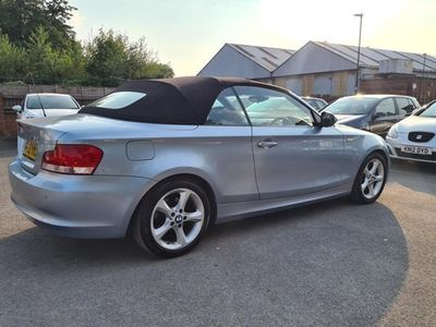 used BMW 118 1-Series Convertible d Sport 2d