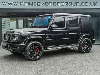 used Mercedes G63 AMG G-Class 6.3 AMG4MATIC 5d 577 BHP
