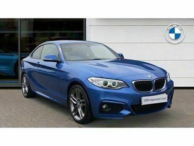 used BMW 218 2 Series i M Sport 2dr [Nav]