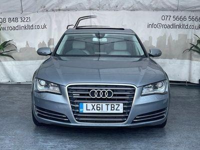 used Audi A8 Saloon 3.0 TDI Quattro Executive SE LWB 4d Tip Auto
