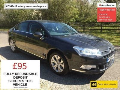 used Citroën C5 HDI EXCLUSIVE !! 12 MONTH MOT - ADAPTIVE SUSPENSION - GREAT CONDITION INSID 2.0 4dr