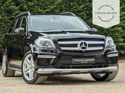 used Mercedes GL350 GL CLASS 3.0BLUETEC AMG SPORT 5d AUTO 255 BHP