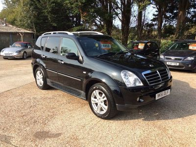used Ssangyong Rexton 2.7 TD EX T-Tronic 4x4 5dr