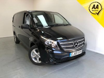 used Mercedes Vito 119 Cdi Diesel L2 H1 Premium Automatic 1 Owner Finance Px
