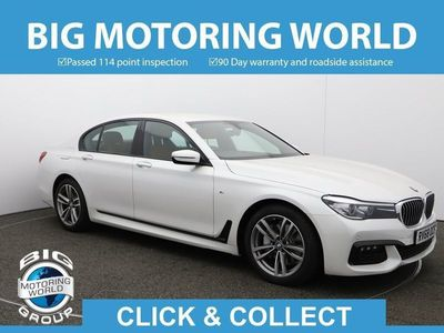 used BMW 730 7 Series D M SPORT for sale | Big Motoring World