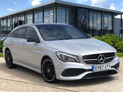 used Mercedes CLA220 CLA DIESEL SHOOTING BRAKEAMG Line 5dr Tip Auto