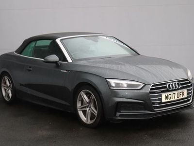 used Audi A5 Cabriolet 2.0 Tfsi Quattro S Line 2Dr S Tronic