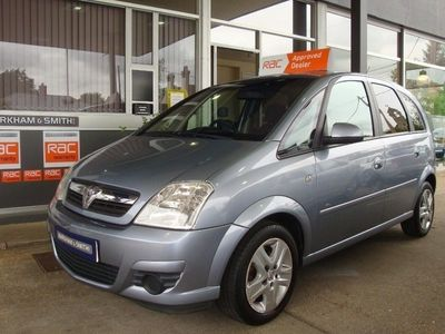 used Vauxhall Meriva ACTIVE 1 former keeper + 5 service stamps + just serviced 5-Door