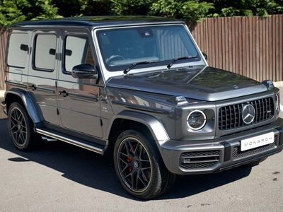 used Mercedes G63 AMG G Class 4.0V8 BiTurbo AMG SpdS+9GT 4WD (s/s) 5dr