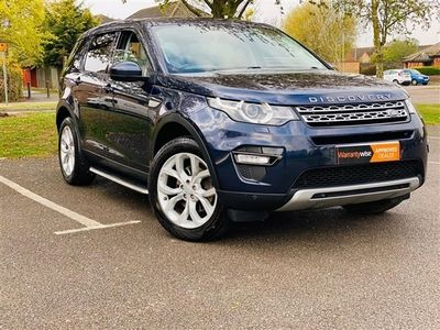 used Land Rover Discovery TD4 HSE
