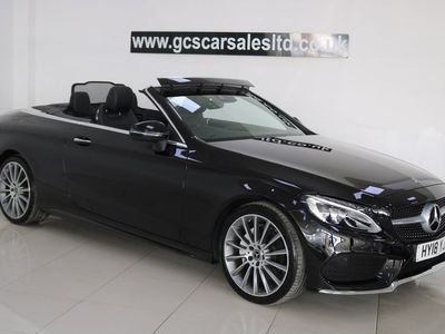 used Mercedes C200 C Class 2.0AMG Line Cabriolet G-Tronic+ (s/s) 2dr