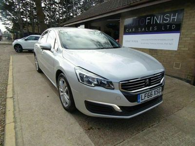used Peugeot 508 1.6 BLUE HDI ACTIVE 4d 120 BHP