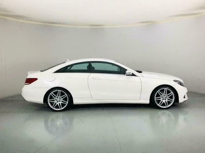 used Mercedes E220 E-CLASS 2.1AMG LINE EDITION 2d 174 BHP - Heated S diesel coupe