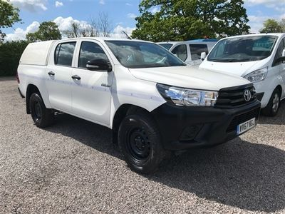 used Toyota HiLux 4WD D-4D DOUBLE CAB PICK UP