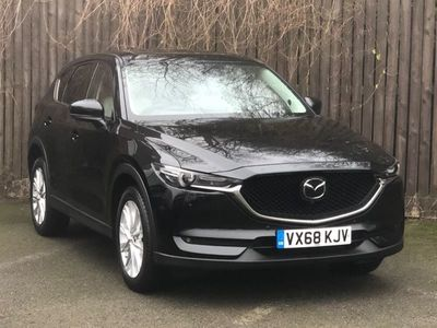 used Mazda CX-5 2.2d [184] Sport Nav+ 5dr Auto AWD [Safety Pack] - AUTOMATIC - STONE LEATHER