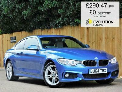 used BMW 430 4 SERIES 3.0 D XDRIVE M SPORT 2d 255 BHP