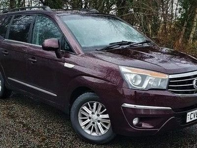 used Ssangyong Rodius TURISMO 2.2 EX 5d 176 BHP.*AUTO*LEATHER*7 SEATS* HISTORY*