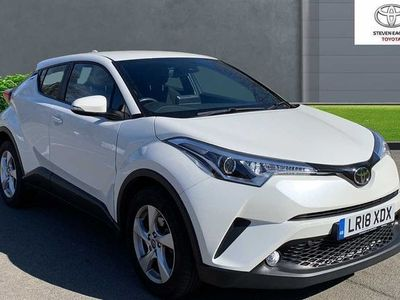 used Toyota C-HR 1.2 VVT-i Icon (s/s) 5dr