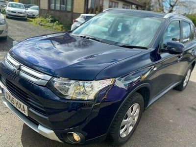 used Mitsubishi Outlander Estate 2.2 DI-D GX2 5d