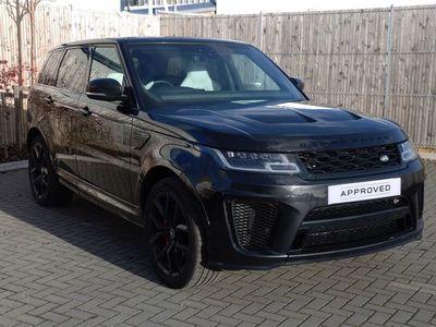 used Land Rover Range Rover Sport 5.0 V8 S/C 575 SVR 5dr Auto Estate 2019