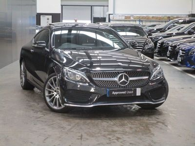 used Mercedes C300 C-ClassAMG Line Premium Plus 2dr 9G-Tronic