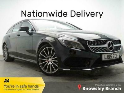used Mercedes CLS220 CLS 2.1LBLUETEC AMG LINE PREMIUM 5d AUTO 174 BHP NATIONWIDE DELIVERY
