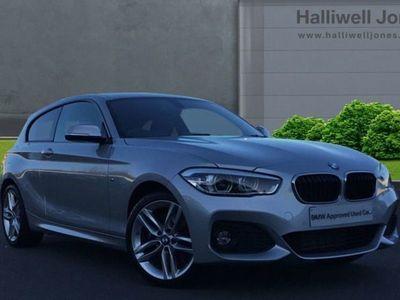 used BMW 120 1 Series D M Sport 3Dr [Nav/Servotronic]