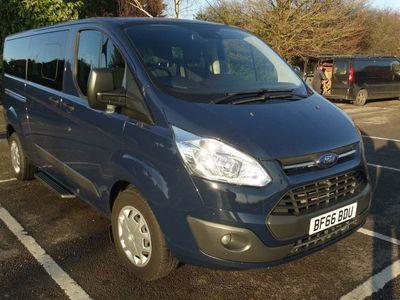 used Ford Custom Tourneo2.0 TDCi 310 L2 Zetec Shuttle Bus 5dr (9 Seats)