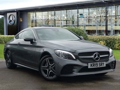 used Mercedes C220 C CLASS 2019 Slyfield Industrial Estated AMG Line Coupe
