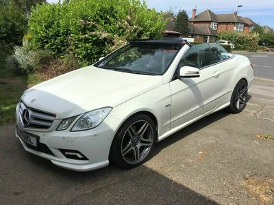 used Mercedes E250 E Class 2.1CDI BlueEFFICIENCY Sport Cabriolet 2dr