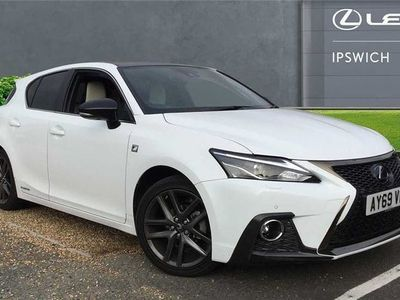 used Lexus CT200h 1.8 F-Sport 5dr CVT [Leather]