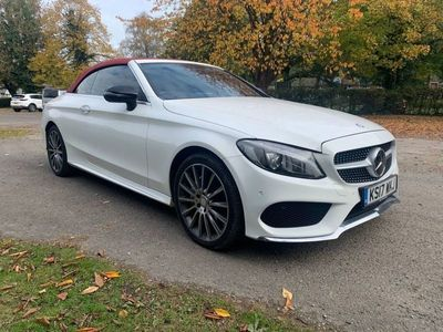 used Mercedes C220 C CLASS 2.1D 4MATIC AMG LINE 2d 168 BHP STUNNING CO