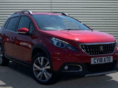 used Peugeot 2008 1.2 PureTech Allure SUV 5dr Petrol (s/s) (110 ps)