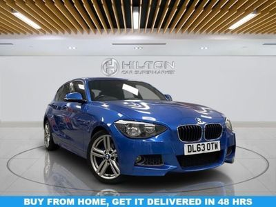 used BMW 118 1 SERIES 2.0 D M SPORT 5d 141 BHP