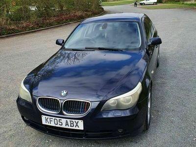 used BMW 525 5 Series 2.5 d SE 4dr