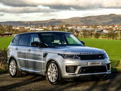 used Land Rover Range Rover Sport 2018 Whins Of Milton SDV6 AUTOBIOGRAPHY DYNAMIC