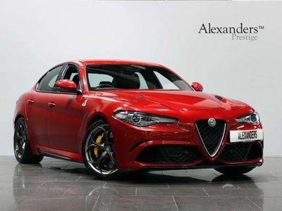 used Alfa Romeo Giulia Saloon 2.9 V6 Bi-Turbo Quadrifoglio Auto (s/s) 4dr, 2017, 19000 miles.