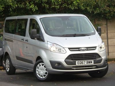 used Ford Custom Transit2.0 Tdci 105Ps Low Roof 8 Seater Zetec