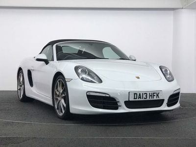 used Porsche Boxster 3.4 981 S PDK (s/s) 2dr