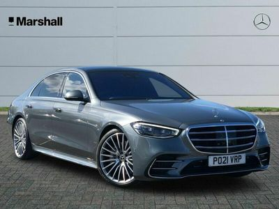 used Mercedes S500L S Class 3.0MHEV AMG Line (Executive, Premium) G-Tronic+ 4MATIC (s/s) 4dr