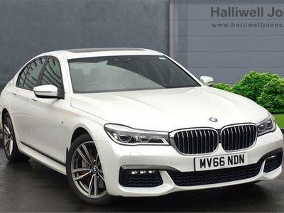 used BMW 750 7 SERIES 2016 Warrington i M Sport Saloon